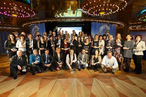 Les nominés Lauréats de la Mer Costa Croisières 2014