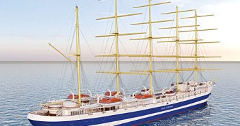 Modélisation 3D du futur nouveau voilier de Star Clippers