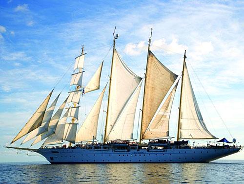 Le voilier de luxe Star Flyer