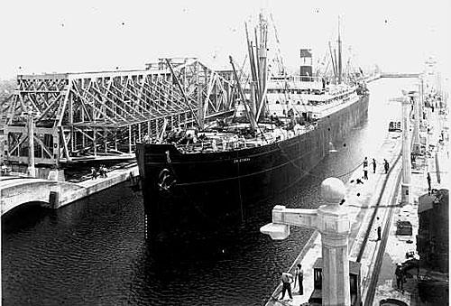 Le Canal de Panama en 1914 Photo 3