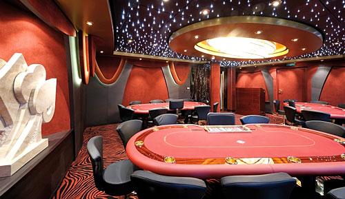 Casino sur un Navire MSC Croisières