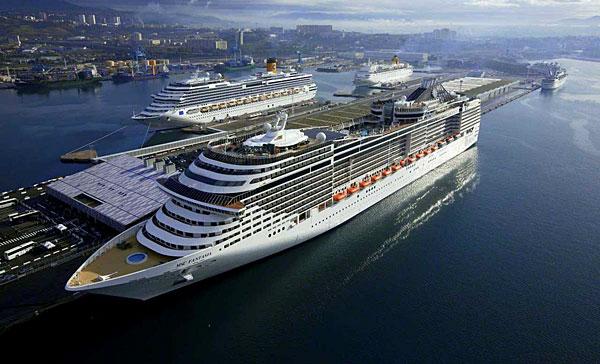 Le Port De Marseille Grand Port De Croisières - Parking port de marseille croisière