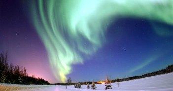 Une Aurore Boréale en Alaska