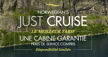 Tarif Just Cruise de Norwegian Cruise Line