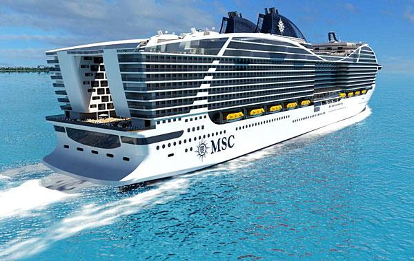 MSC Grandiosa : construction du nouveau navire de MSC ...