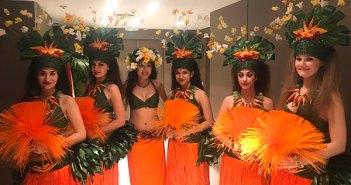 Danseuses polynésiennes