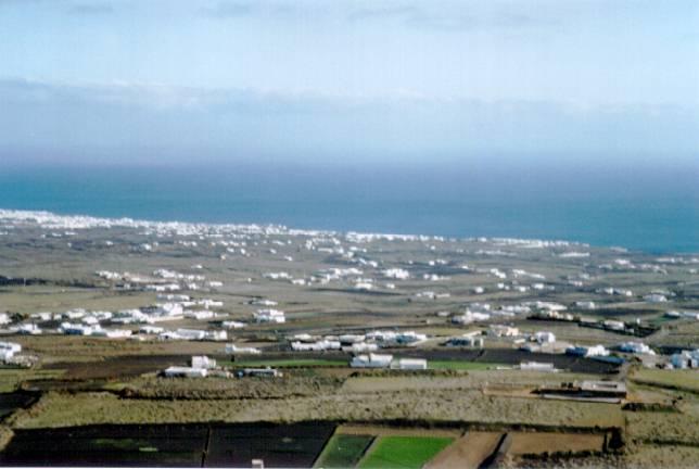Vista de Macher y Tias La Asomada