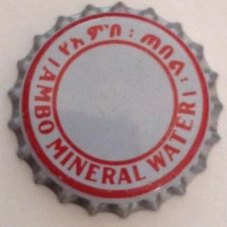 Ambo Mineral Water Agua - Crown Cork Ethiopia