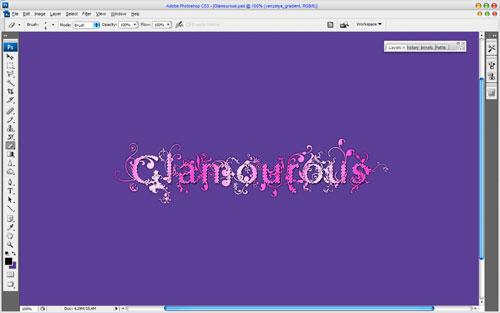 Amazing Glamourous Text image 16