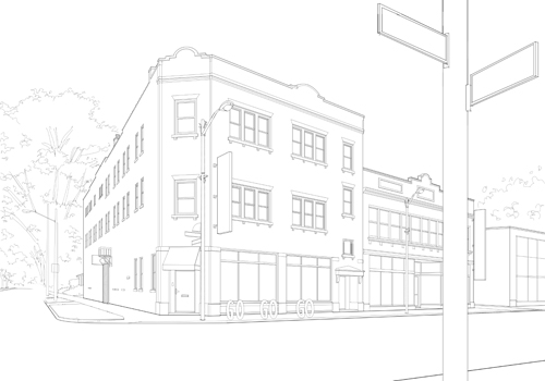 Creating an Architectural Illustration Using Reference