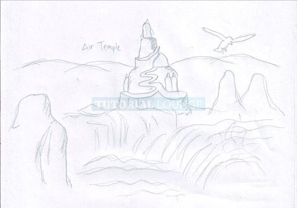 The Making of Air Temple Inspired From Avatar The Legend
