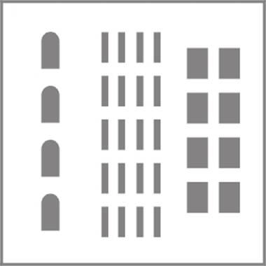 design graphic: Menggambar Bangunan di CorelDraw