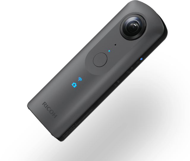 An image of the particular Ricoh Theta V