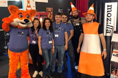 Firefox, Coney & Mozilla's AV1 team at IBC 2018