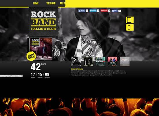 RockBand Muse Template