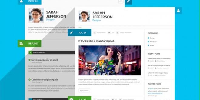 Creative Resume Website Templates Raghavendra Prasad