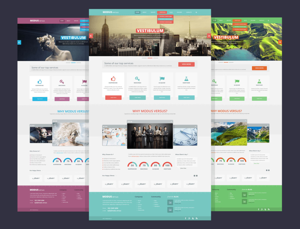 While this is a lot of work, your job is made a great deal easier with the help of free newsletter templates from adobe spark. Modus Versus Webdesigner Depot Webdesigner Depot