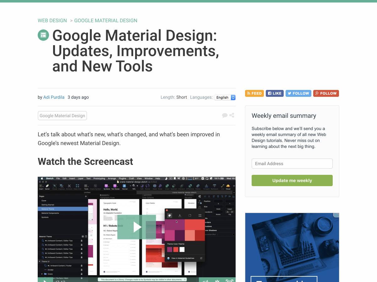 Popular design news of the week: July 16, 2018 – July 22, 2018 1