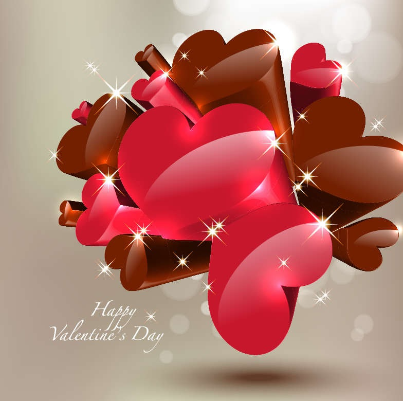 Happy Valentines Day Vector Free Vector Graphics All