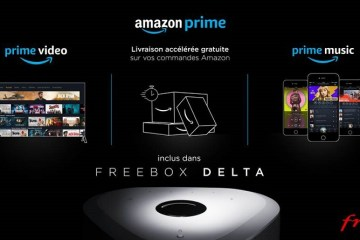 Amazon Prime inclus dans la Freebox Delta