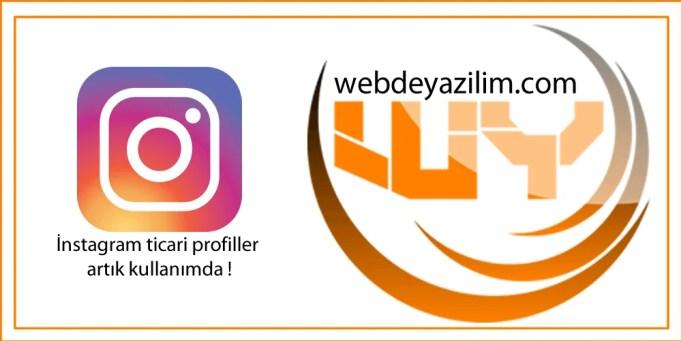 instagram ticari profiller