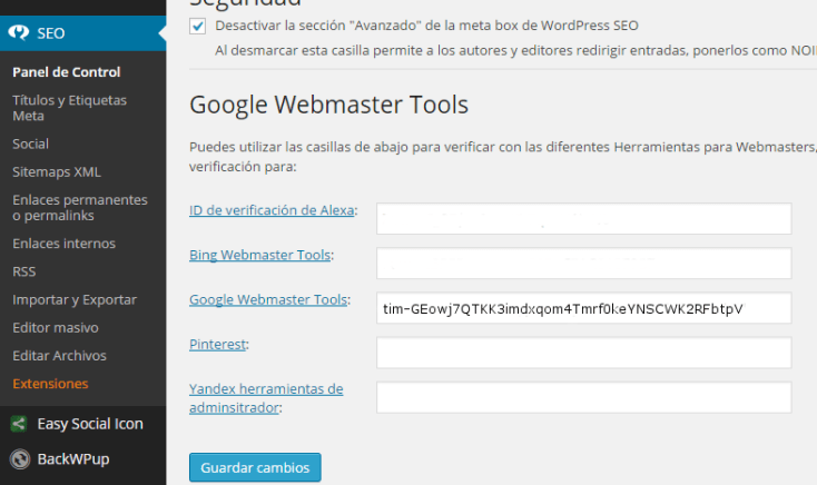 HTML meta en GWT