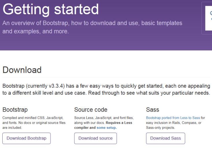 Descargar Bootstrap
