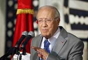 Le Premier ministre tunisien par intérim Béji Caid Essebsi - photo (magharebia.com)