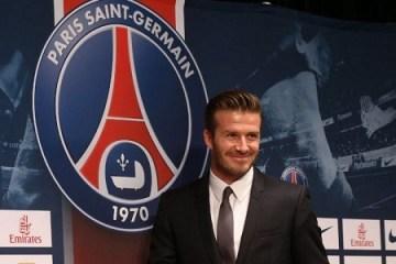 David Beckham (photo - leparisien.fr)
