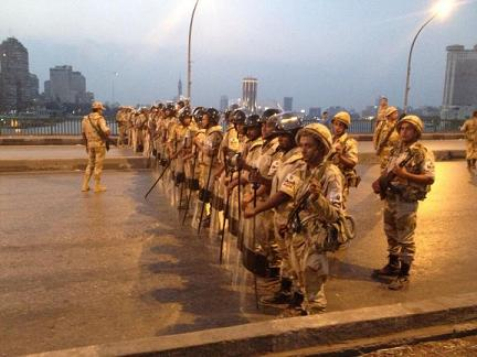 Armée Egypte (photo CNN)