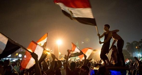 Place Tahrir, 03-07-13 photo (Le Parisien)