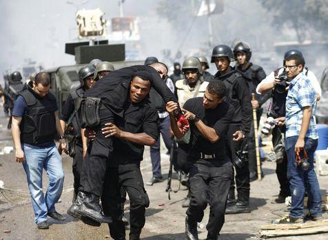 Le Caire 14-08-2013 (photo Libération)