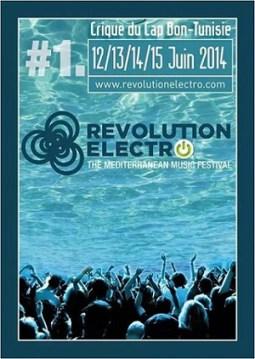 Affiche revolution elctro