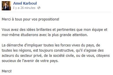 FB Amel Karboul