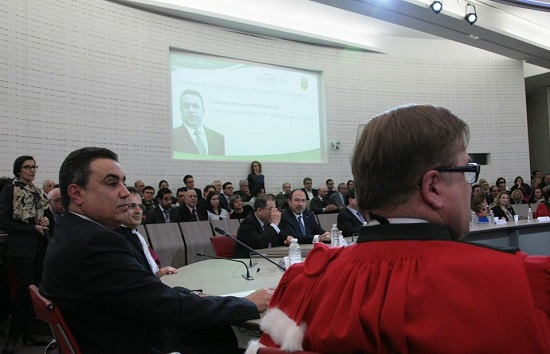 Mehdi Jomaa - Paris Dauphine (credit photo - 1er ministere)
