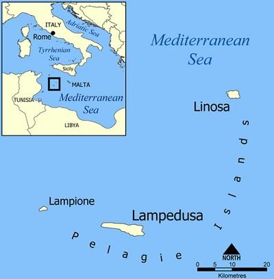 Lampione Lampedusa