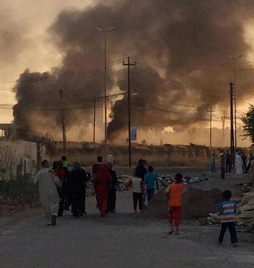 Mossoul 10-06-2014 (credit photo - Zaid Benjamin)