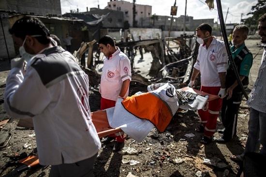 Gaza 26-07-2014 (credit photo - AFP)