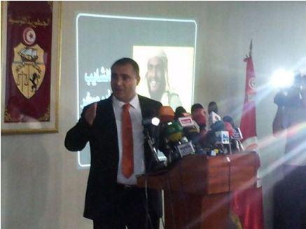 Mohamed Ali Laroui. Photo projetée du terroriste Lokma Abou Sakhr |Webdo