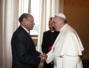moncef marzouki vatican pape francois