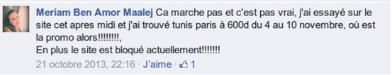 commentaire tunisair 1