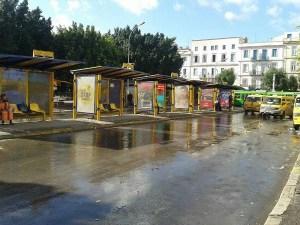 bus grève tunis
