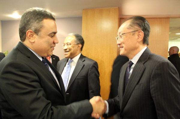 Mehdi Jomaa - Jim Young Kim (credit presidence du gouvernement)