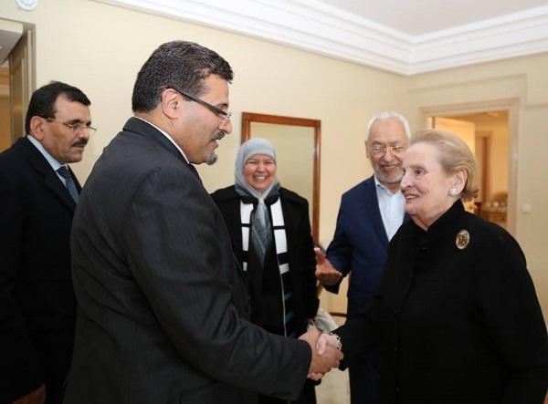 Madeleine Albright - Ennahda - page fb R (3)