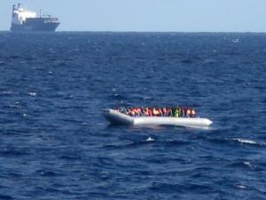 Migrants au large de la Sicile - AFP