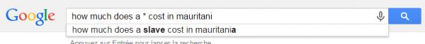 Combien coûte un esclave en Mauritanie | Google