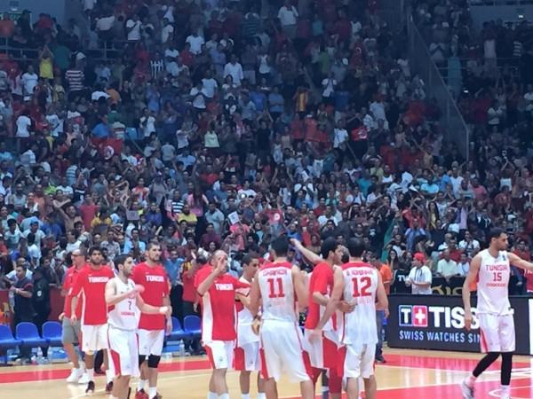 La Tunisie en demi-finale