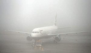 Avion brouillard