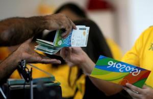 THG accusée de vente illégale de billets à Rio REUTERS/Ricardo Moraes/File Photo