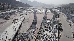 Pèlerins en Arabie Saoudite